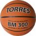 Мяч баскетбольный TORRES BM300 B02016, р.6, резина, нейлон. корд, бут. камера, темнооранж-черн