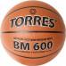 Мяч баскетбольный TORRES BM600 B32025, р.5, нейлон. корд, бут. камера, темнокоричневый-черн