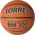 Мяч баскетбольный TORRES BM300 B02015, р.5, резина, нейлон. корд, бут. камера, темнооранж-черн