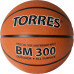Мяч баскетбольный TORRES BM300 арт.B02017, р.7, резина, нейлон. корд, бут. камера, темнооранж-черн