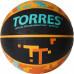 Мяч баскетбольный TORRES TT B02127,  р.7, резина, нейлон. корд, бут. кам., черный-мультиколор